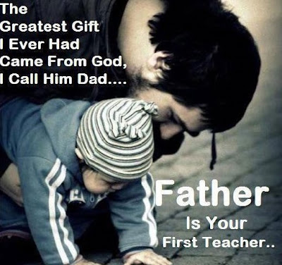 Quotes About Parental Love: The greatest gift I ever had come from god, I call him dad. Father is your first teacher.