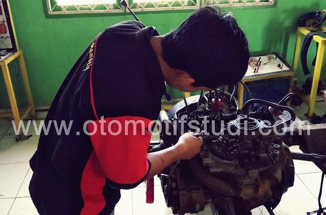 Komponen Mesin Bensin Mobil dan Fungsinya Lengkap Beserta Gambarnya