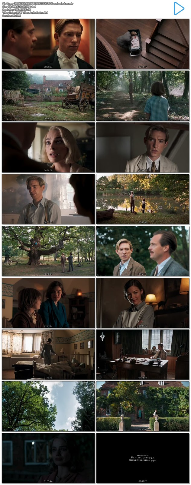 Goodbye Christopher Robin 2017 Hindi Dual Audio 720p HEVC BluRay Free Download
