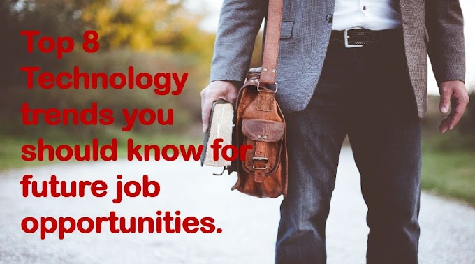 Job opportunities for top technology trends