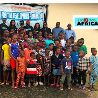 #Back2SchoolAfrica Empowers 50 children in Calabar