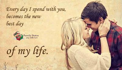 love status in english for boyfriend
