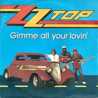 "Το single των ZZ Top ""Gimme All Your Lovin'"""