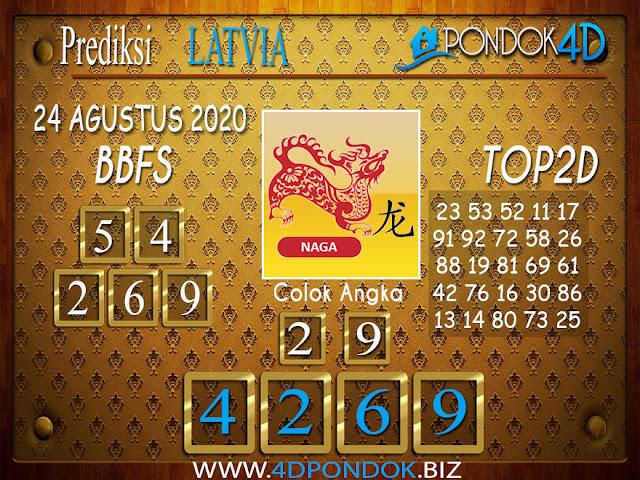 Prediksi Togel LATVIA POOLS PONDOK4D 24 AGUSTUS 2020