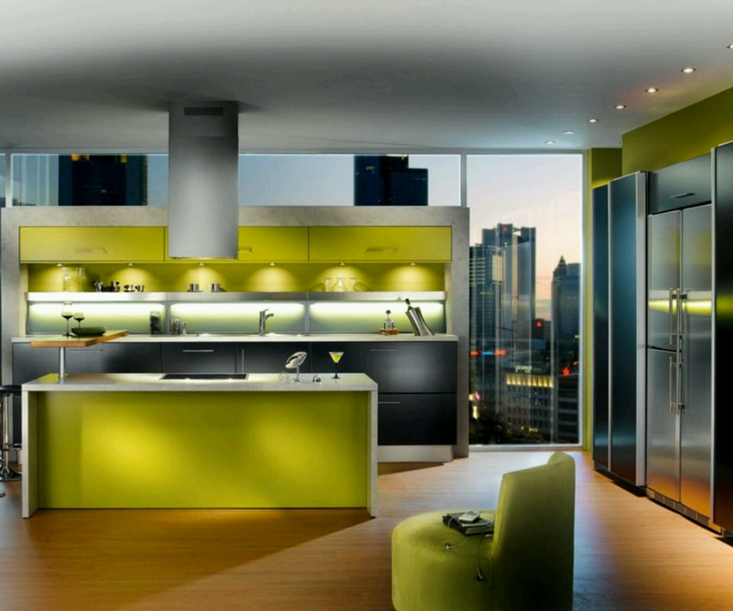 New Home Designs Latest Modern Interior Decoration: Modern Kitchen Designs Ideas.