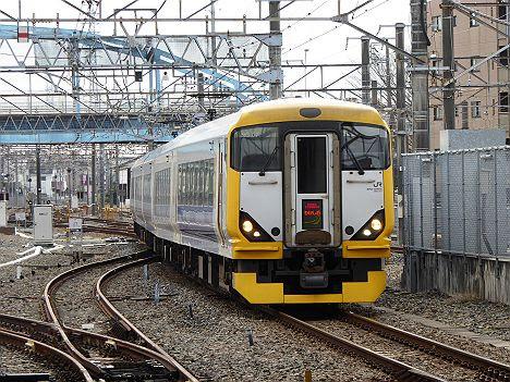 特急わかしお 東京行き E257系