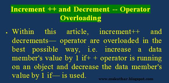 Increment Operator In C Programbackuptype