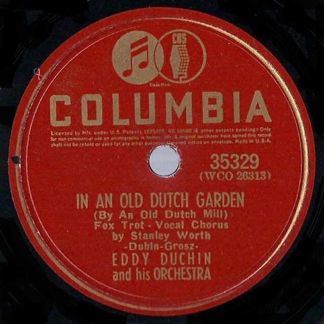 Eddy Duchin And His Orchestra - The Camera Doesn't Lie / Heaven Help This Heart Of Mine