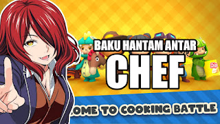 Mobile game cooking action