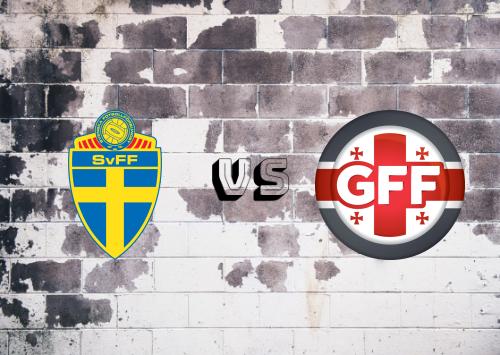 Suecia vs Georgia  Resumen