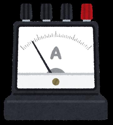 電流計のイラスト