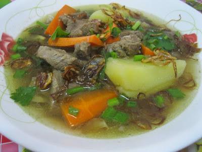 hari ini aku ingin kongsikan resepi sup daging simple Resepi Sup Daging Simple dan Sedap