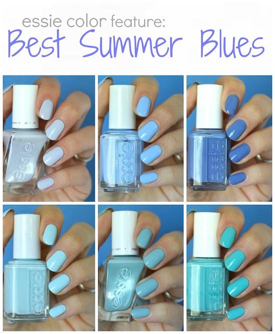 Best Essie Summer Blues   Essie Envy