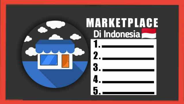 Marketplace Terbaik Populer di Indonesia