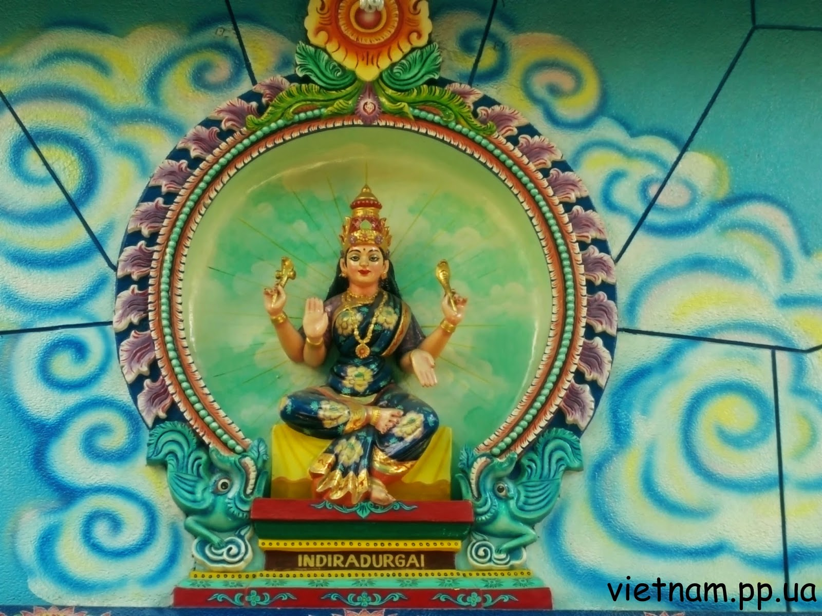 Божество Хинди:Indiradurgai