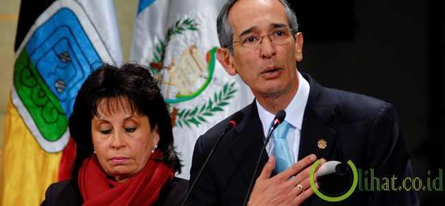 ALVARO COLOM - Presiden Guatemala