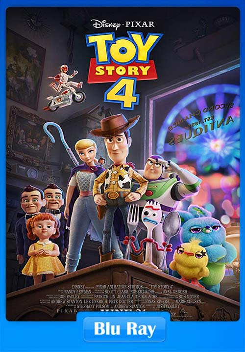 Toy Story 4 2019 Hindi 720p BluRay Dual Audio English Esub x264 | 480p 300MB | 100MB HEVC