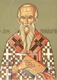 Αποτέλεσμα εικόνας για O Άγιος Ιερομάρτυς Πολύκαρπος