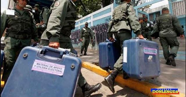 Militares obligan a periodistas a borrar las trifulcas que han grabado en las primarias del PSUV
