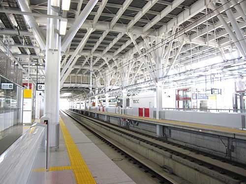 Shin Aomori Station, Aomori, Tohoku, Japan.