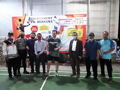Open Turnamen Badminton PB Bersama SERIES CUP 2020 Tangerang Utara Sukses Di Desa Kampung Melayu Barat