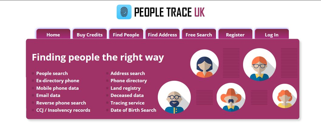 Search the UK Electoral Roll People and address search: 365 Day
