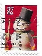 Selo Boneco de Neve com cartola