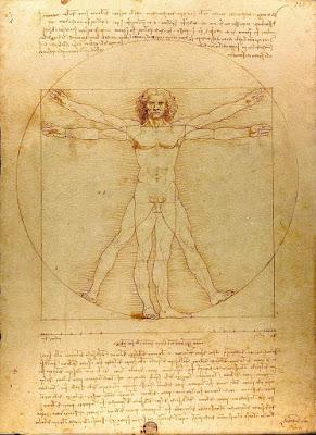 Vitruvian Man (Le proporzioni del corpo umano secondo Vitruvio]