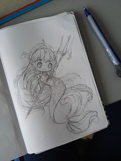 chibi commission sketch
