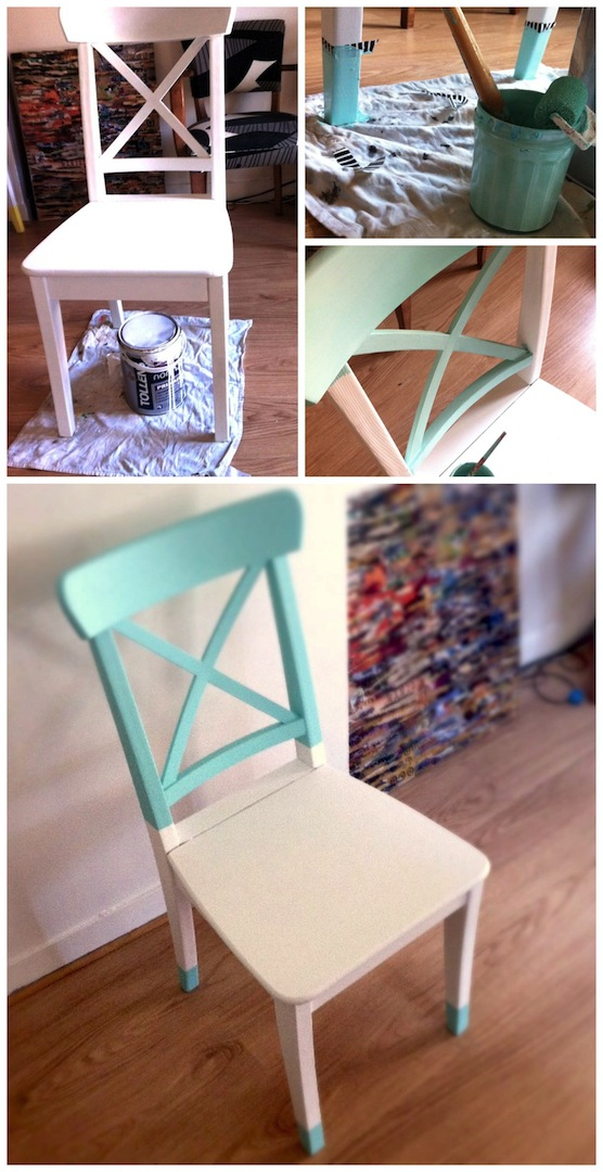 repeindre une chaise diy pour une 2 me vie valy 39 s blog. Black Bedroom Furniture Sets. Home Design Ideas
