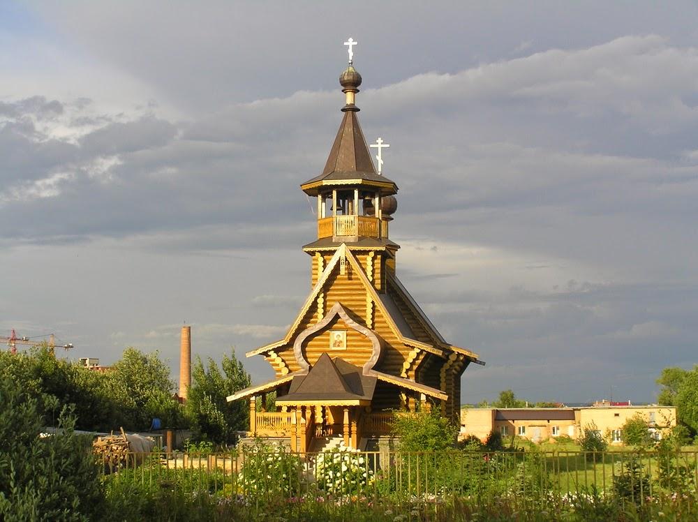 Церковь Пантелеймона Целителя на территории Районной больницы, Сергиев Посад.
