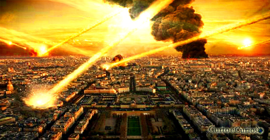 Asteroide e treinamento militar propagam Apocalipse pra Setembro de 2015