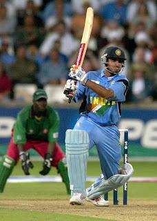 Sourav Ganguly 111 - India vs Kenya 2nd Semi-final ICC Cricket World Cup 2003 highlights