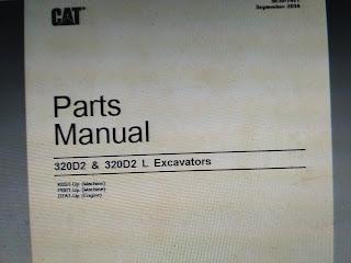 Parts Manual CAT 320D 2 CAT 320D2 L