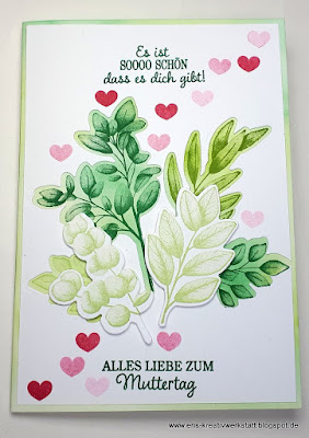 """Muttertagskarte """"Für alle Zeit"""" mit """"Ewige Zweige"""" Stampin' Up! www.eris-kreativwerkstatt.blogspot.de"""