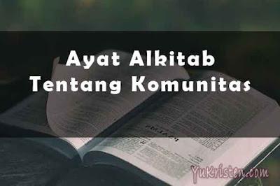 ayat alkitab tentang komunitas