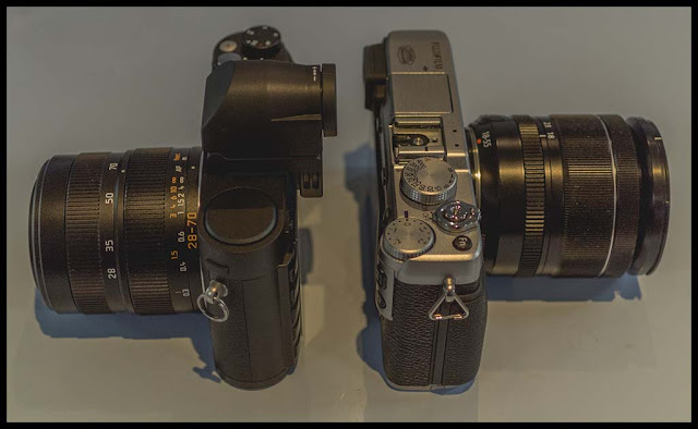 Fuji X-E1 and Leica X Vario Comparisons - Whole thing in one post