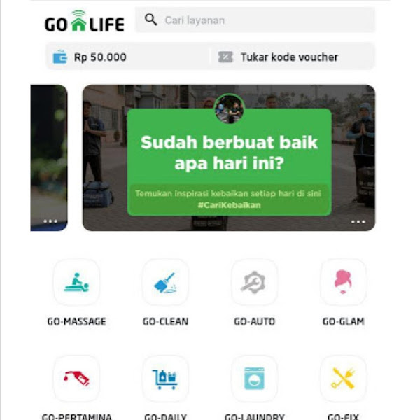 Riview Go Clean By Gojek