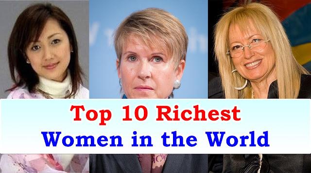 Richest-Women-int-the-world-top-10-list