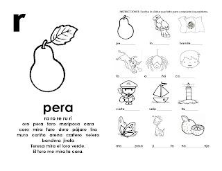 Ejercicios de lectoescritura para imprimir en pdf gratis