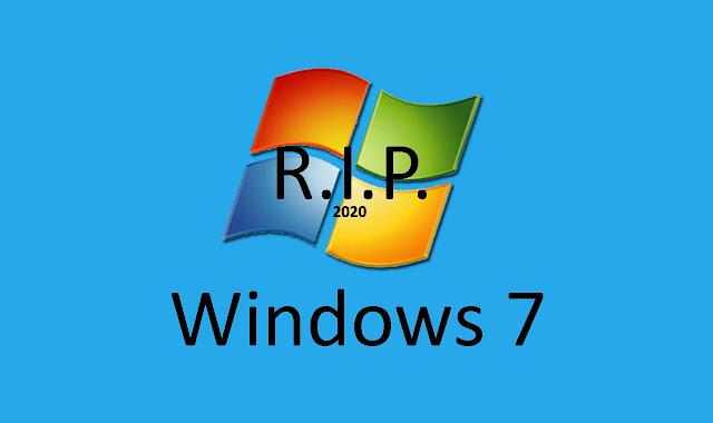 Windows 7 Akan Berakhir di 2020