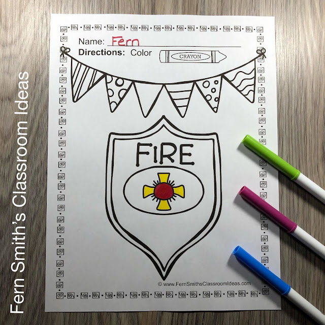 Click here to download this Fire Safety Coloring Pages Coloring Fun Coloring Book for YOUR CLASSROOM today!