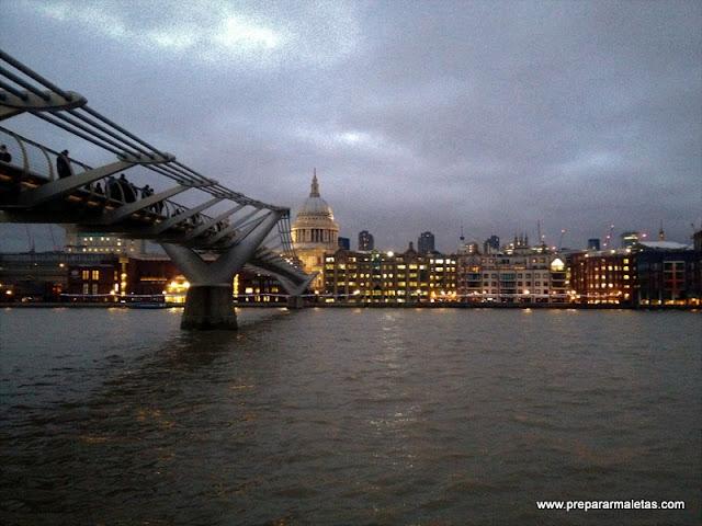 millenium bridge londres