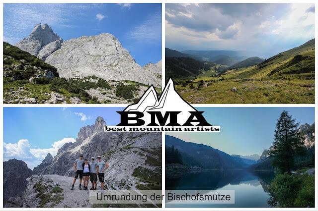 outdoor-blog Best-mountain-artists - wanderung um die Bischofsmütze am Dachstein
