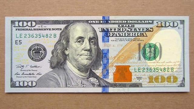 Tại sao tờ 100 USD lại in hình chân dung ông Benjamin Franklin?