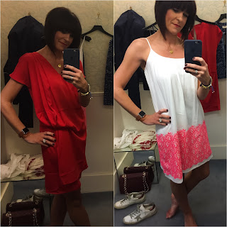 My Midlife Fashion, Hush Homewear Pop Up Shop, hush homewear Danielle Dress, Hush homewear Clovelly Beach dress