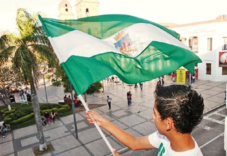 El civismo cruceño será plasmado este martes con una tónica diferente y sensible / ARCHIVO EL DÍA