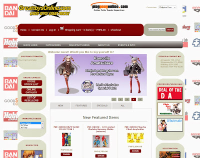 GREAT TOYS ONLINE - Gunpla shop website