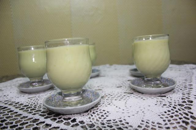 Green pumpkin juice
