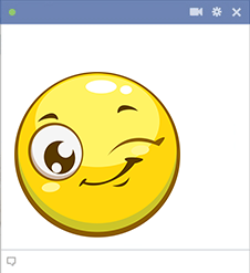 Big Wink Facebook Emoji